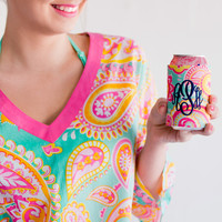 Summer Paisley Drink Wrap