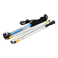 Ohuhu Anti Shock & Folding Trekking Pole/ Hiking Pole, 1-Piece
