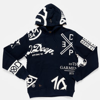 10Deep | Tops | Full Clip Hoody - Navy