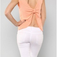 The Open Bow Back Top - 29 N Under