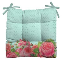 Allyson Johnson Favorite Floral Outdoor Seat Cushion