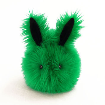 Emerald the Green Bunny Stuffed Animal Plush Toy