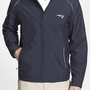 Men's Big & Tall Cutter & Buck 'New England Patriots - Beacon' WeatherTec Wind & Water Resistant Jacket