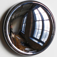 Space Age Convex Mirror