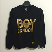 Hoodies Pullover Round-neck Long Sleeve Tops Jacket [10141551431]