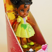 My First Disney Princess Sparkle Collection Mini Toddler Doll Tiana