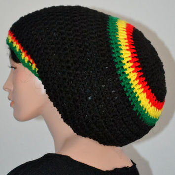 Dreadlock Tam Hat Crochet Pattern Traitoro For