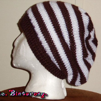 Striped Slouch Hat