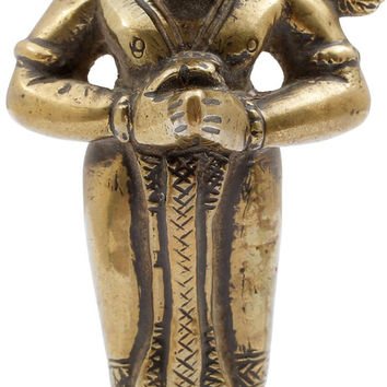 BRONZE FIGURE OF HANUMAN