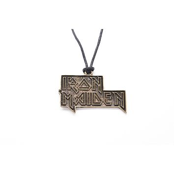 Iron Maiden Unisex Necklace with Rope