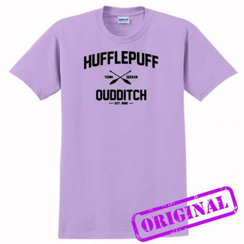 Hufflepuff Quidditch for shirt orchid, tshirt orchid unisex adult