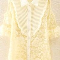 Lace Shirt for Women WHV564 from topsales