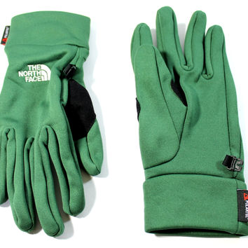 The North Face Men's Power Stretch Nottingham Green Gloves