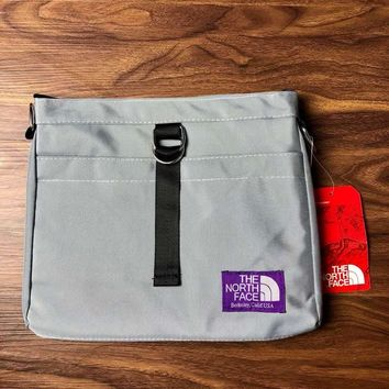 THE NORTH FACE Trend Purple Label Mini Shoulder Bag Crossbody Bag Grey