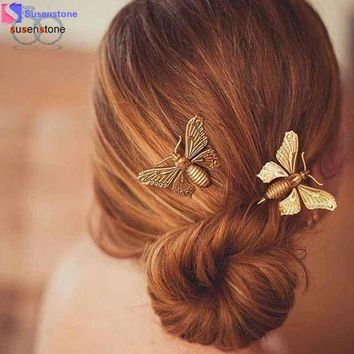 DCCKU7Q 1PC Women Butterfly Hair Clip Hair Accessories Headpiece