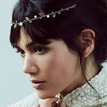Lelet NY x Free People Womens Special Occasion Hairwrap