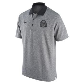 Nike College Gridiron Grey (Ohio State) Men's Polo Shirt