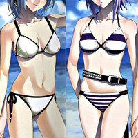 New Rosario + Vampire Wiki Mizore Shirayuki Anime Dakimakura Japanese Pillow Cover