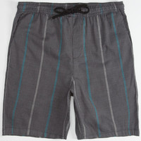 Hurley Poolside Mens Volley Shorts Black  In Sizes