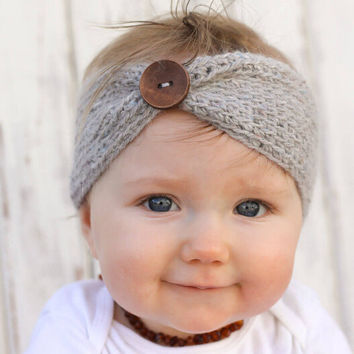 Baby Girl Knit Crochet Turban Headband Warm Headbands hair accessories for newborns hair head bands band hairband 1PC