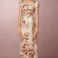 Medina  Wedding Guest Dress by Anthropologie x BHLDN in Mauve Size: