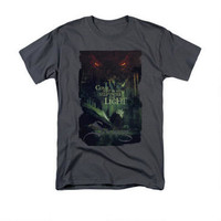 The Hobbit: The Battle of the Five Armies Step Into the Light Adult Charcoal T-shirt |