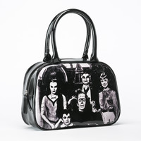 The Munsters Family Portrait Handbag Purse