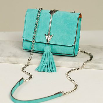 Free People Arc Suede Crossbody Bag