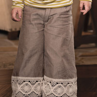 Persnickety Hazel Pants with Lace Trim PREORDER