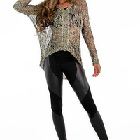 Rayon Chainmail Top