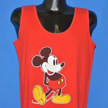 80s Mickey Mouse Disney Tank Top t-shirt Large