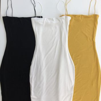 The Tank Dress (Double Layered)