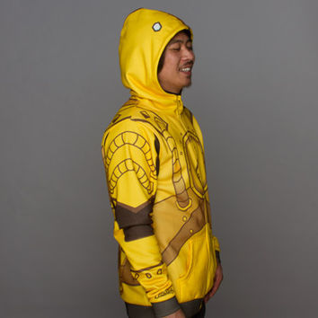 J!NX : League of Legends Blitzcrank Champion Zip-up Hoodie