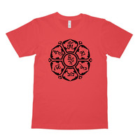 OM MANI PADME HUM Men's short sleeve organic t-shirt