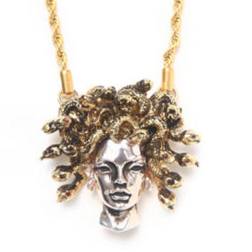 Medusa Pendant w/26' chain by Han Cholo