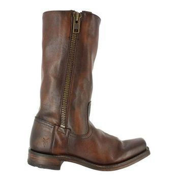 Frye Boot 77283 Maple Heath Brown Leather Boot