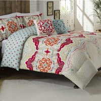 Vue Milo 5-pc. Reversible Comforter Set - King