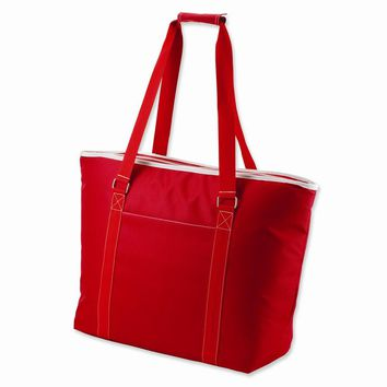 Tahoe Red Extra large insulated shoulder tote