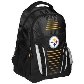 * Pittsurgh Steelers Franchise Premium Backpack School Gym Bag