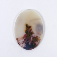 29x21mm Top Grade Indian Picture Agate