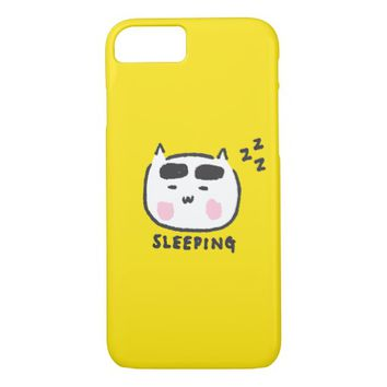 Sleeping Cat iPhone 8/7 Case