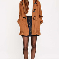 Urban Outfitters Duffle Camel Coat - Urban Outfitters