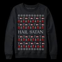 HAIL SATAN | UGLY SWEATER