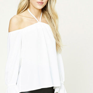 Halter Off-the-Shoulder Top