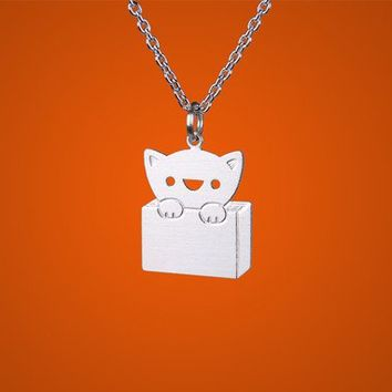 Cat-in-the-box Necklace