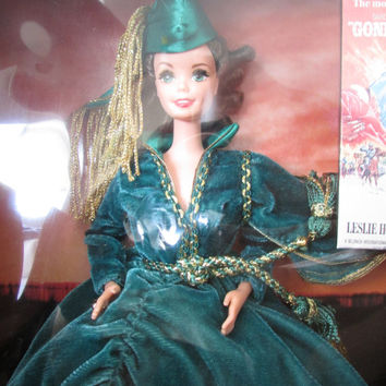 Barbie® Doll as Scarlett O'Hara (Green Drapery Dress) - Limited Edition - Gone with the Wind