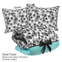 Wake Up Frankie - Vivienne in Love Set : Teen Bedding, Pink Bedding, Dorm Bedding, Teen Comforters