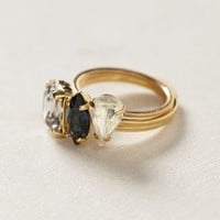 Sequentia Ring Set by Anthropologie Blue 7 Jewelry