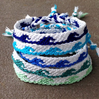Ocean Wave Friendship Bracelets