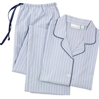 Mason Long Sleeve Pajamas, Blue/Navy, Pajamas